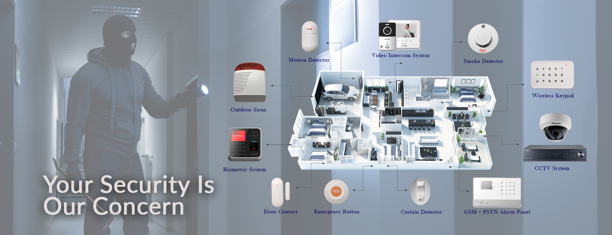 Safety Measures And Installation Through Cctv Surveillance.
