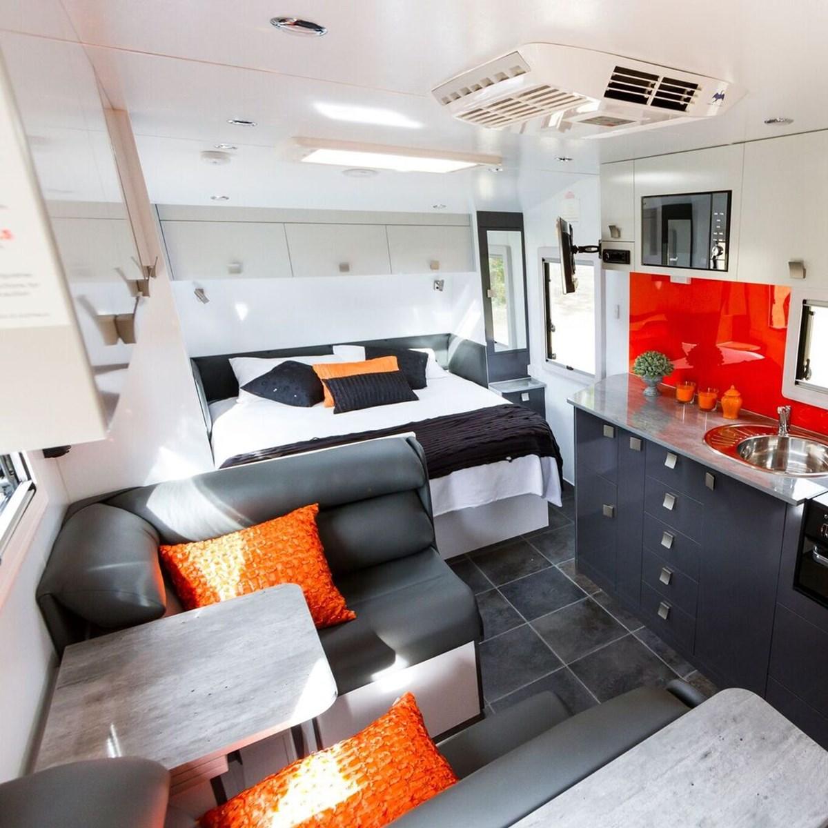 Economic Benefits of Small Caravans with Ensuite